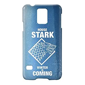 Loud Universe Samsung Galaxy S5 House Stark Winter Is Coming Print 3D Wrap Around Case - Blue/White