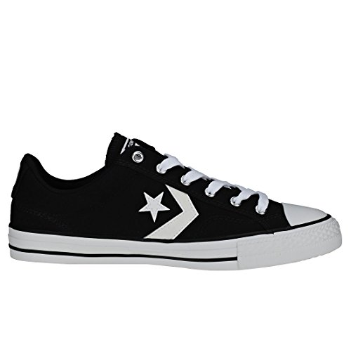 Mixte Fitness Player White Star Chaussures White Noir Ox Black 001 Converse Adulte de fB1qnw