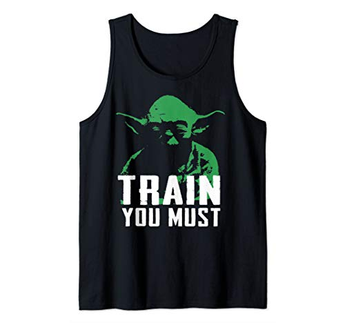 Star Wars Yoda Green Hue Train You Must