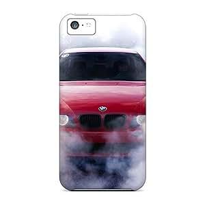 Hot Design Premium Srt4571abkR Tpu Case Cover Iphone 5c Protection Case(bmw 5 Series)