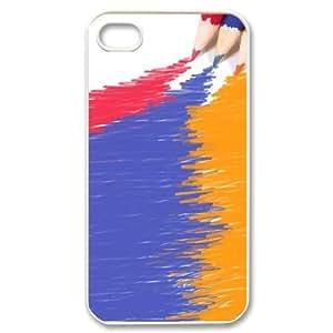 Hard Shell Case Of Art Pencil Customized Bumper Plastic case For Iphone 4/4s wangjiang maoyi