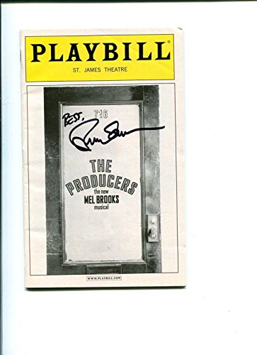 Brad Oscar The Producers Broadway Melodious Play Rare Signed Autograph P