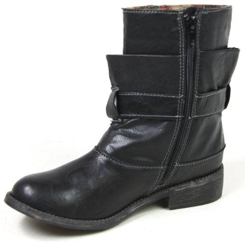 Boots Femme Rocket Dog Noir Garnet pnYwYXq1