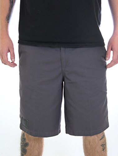 Fatal Men's Prospect Chino Short Charcoal Size 32