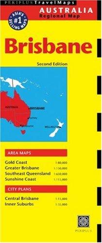 Periplus Travel Maps Brisbane (Australia Regional Maps)