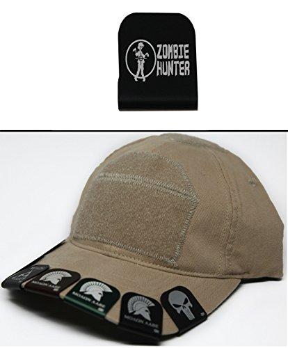 Zombie Hunter Gear (Ultimate Arms Gear ZOMBIE HUNTER 4 Hat Cap Crown Brim-It, Black)