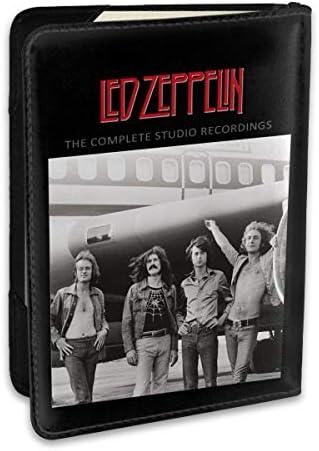 レッド・ツェッペリン Led Zeppelin パスポートケース パスポートカバー メンズ レディース パスポートバッグ ポーチ 収納カバー PUレザー 多機能収納ポケット 収納抜群 携帯便利 海外旅行 出張 クレジットカード 大容量