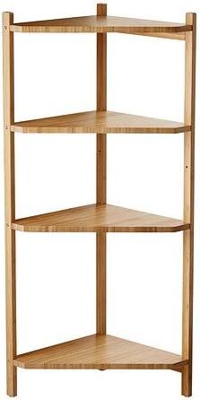 Ikea RAGRUND – estantería de Esquina, bambú – 34 x 99 cm ...