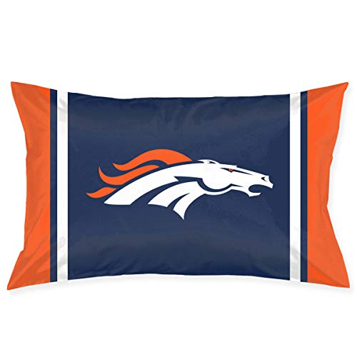 - Sorcerer Custom Pillowcase Colorful Denver Broncos American Football Team Bedding Pillow Covers Double Sided Printing Rectangular Pillow Cases Home Couch Sofa Decorative 20x30 Inches