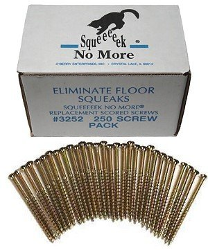 O'Berry 3252 Squeeeeek No More Floor Screws 250 per Package by O'Berry Enterprises