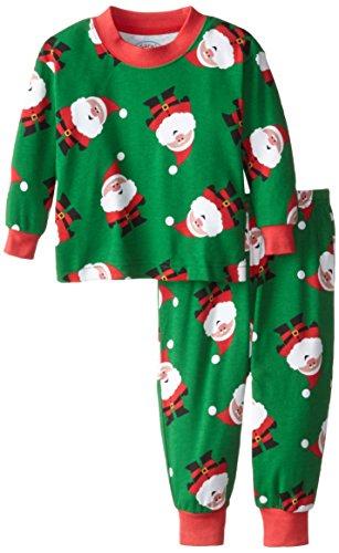 Sara's Prints Baby Boys' Pajamas, Santa Claus, 12 Months