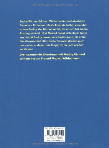 ca1d85b5f3c955 Buddy Bär und Mozart Wildschwein. Beste Freunde für immer: Amazon.de ...