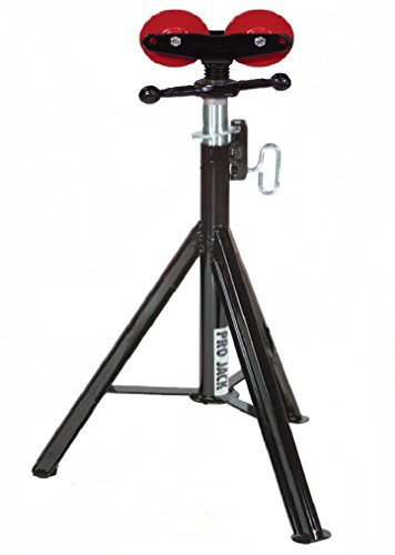 """Sumner 780472 ST-872 Hi Pro Jack with Roller Head, 28"""" to 49"""" Adjustable Height, 2500 lb. Capacity"""
