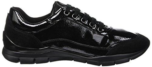 Noir Femme Geox C9999 Baskets Sukie black Basses D B wX1qY16H