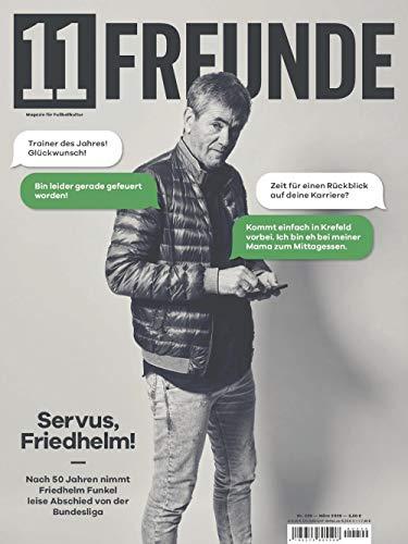 "11 Freunde 220/2020 ""Servus, Friedhelm!"""
