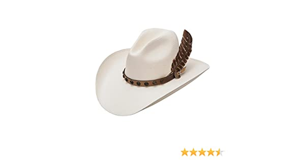 18e1f22f39db7 Stetson Men s Natural Broken Bow 10X Straw Hat - Ssbbow-9544 at Amazon  Men s Clothing store