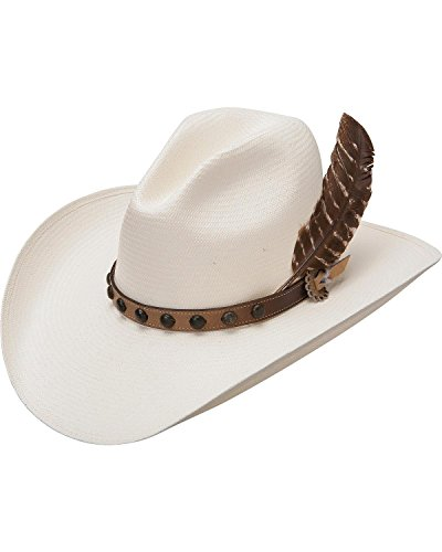 Stetson Men's Natural Broken Bow 10X Straw Hat Natural 7 1/8 by Stetson