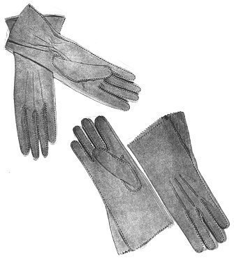 Amazon.com: Women\'s Leather Gloves Pattern: Arts, Crafts & Sewing