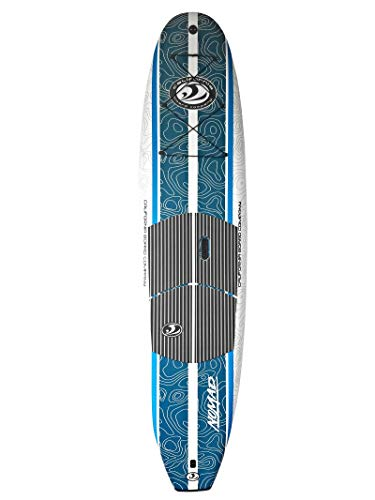 CBC Nomad 10'6 Stand Up Paddle Board Pkg w/Paddle, Traction Pad, and Tri-Fin System