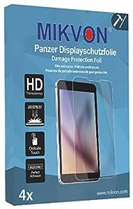4x Mikvon Película blindada protección de pantalla Samsung SCH-i939 Galaxy S3 Protector de Pantalla - Embalaje y accesorios (Intencionadamente es más pequeña que la pantalla ya que esta es curva)