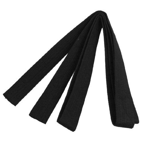 uxcell Martial Arts Karate TaeKwonDo Chain Soft Belt Black