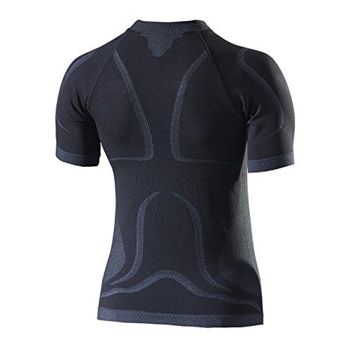 corte nero a il Seven per maniche Undergarment Maglia wfCqxv80In