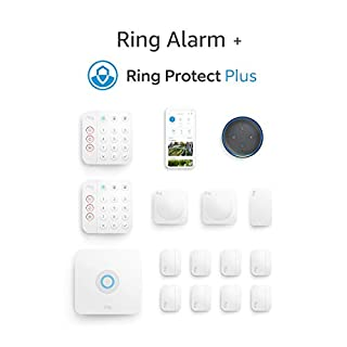 Ring Alarm 14-piece Kit (2nd Gen) with Echo Dot (3rd Gen) and Ring Protect Plus Plan with annual auto-renewal