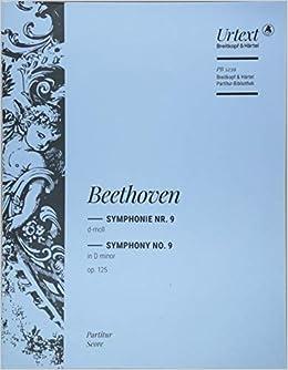 ベートーヴェン: 交響曲 第9番 ニ短調 Op.125 「合唱付」/新版/ブライトコップ & ヘルテル社/スコア