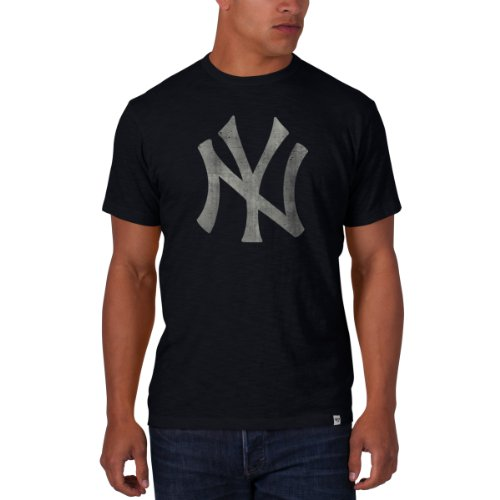 MLB New York Yankees Men's 26800 Scrum Basic Tee, Large, Fal