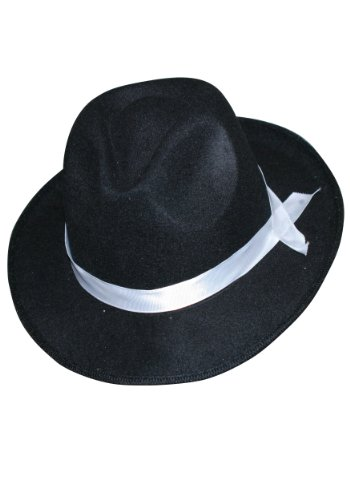 Zoot Suit Gangster Hat Standard