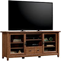 Pemberly Row TV Stand in Auburn Cherry