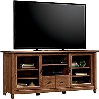 Pemberly Row TV Stand in Auburn Cherry