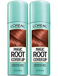 L'Oreal Paris Hair Color Root Cover Up Hair Dye, Red, 2 Ounce (Pack of 2) (Packaging May Vary)
