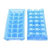 Bandeja de cubitos de hielo en miniatura de Camco para mini refrigeradores, congeladores RV /marinos, congeladores de dormitorios y congeladores pequeños (paquete de 2) (44100)