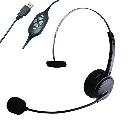 380 Usb (Earbay MHP-380 Professional Headset with Special USB Controller for High-traffic Call)