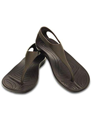Sexi Marrone Flip Infradito Sandalo Crocs Mainapps 8dOwx1qOH