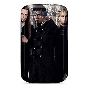 Samsung Galaxy S3 Mzx4261jshq Allow Personal Design High Resolution Ensiferum Band Pattern Shock Absorbent Hard Phone Cases -AshleySimms
