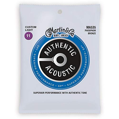 Martin Strings Acoustic Guitar Strings (41Y18MA535)