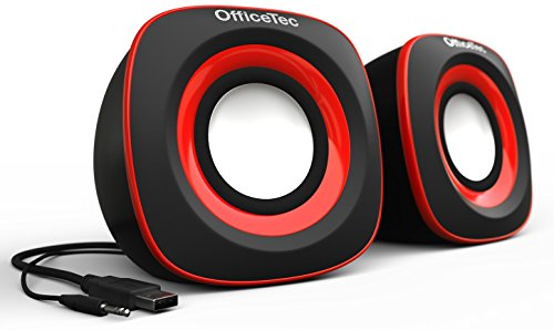USB Powered Speaker (Red) - 2