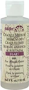 FolkArt Crackle Medium (4 Ounce), 695