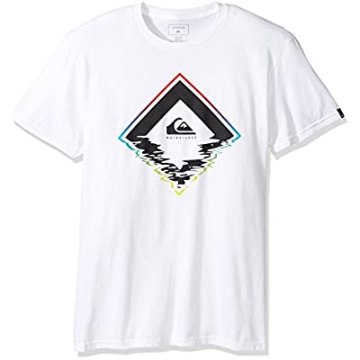 Hot Quiksilver Mens Glitchy Short-Sleeve Shirt for sale