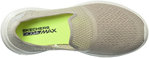 Womens Skechers Vanno Flex Loafer Taupe Max