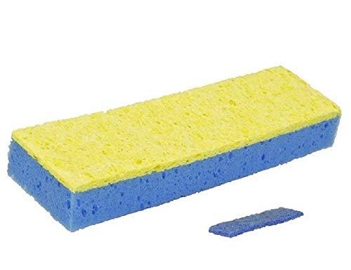Quickie Super Squeeze Sponge Mop Refill, Blue