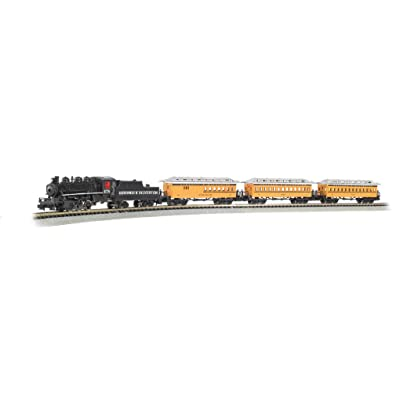 Bachmann Trains - Durango & Silverton Ready To Run Electric Train Set - N Scale: Toys & Games