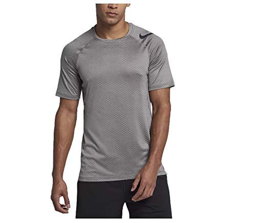 711ee6b69fe3f Jual NIKE Men s Pro Hypercool Slim Fit Training Top-Atmosphere Grey ...