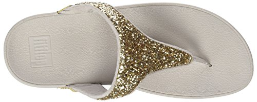 Gold Sandales Or Glitterball Femme Toe 308 Plateforme FitFlop Pale Post xZgtWY