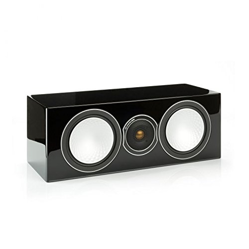 - Monitor Audio Silver Centre Speaker (High Gloss Black Lacquer)