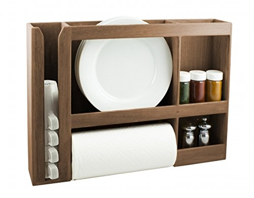 SeaTeak 62402 Dish/Cup/Spice/Towel Rack by SeaTeak