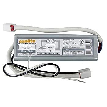 (10 Pack) Sunlite 40130-SU SB122/32C120 2 Lamp FC8T9 and FC12T9 Fluorescent Circline Ballast, 120-volt