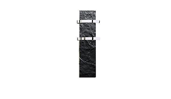 Climastar Slim toallero calentador de panel negro Slate 500 W: Amazon.es: Hogar